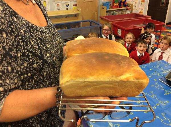 Our homemade bread