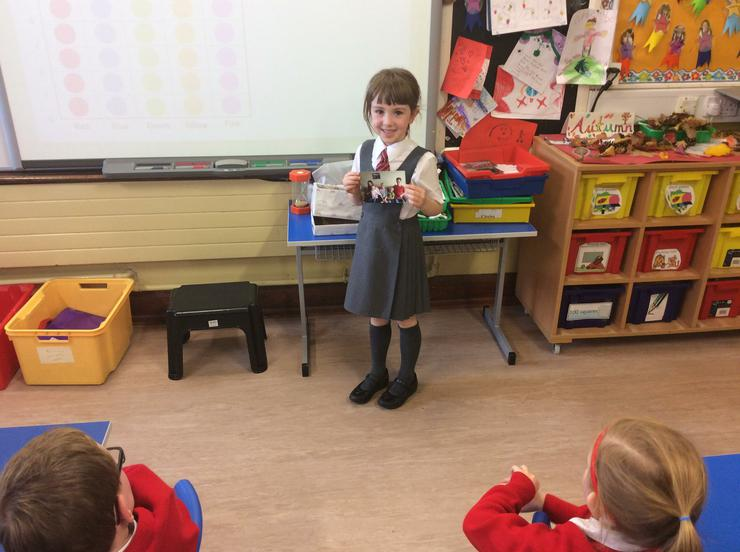 Rose told us all about her photographs.
