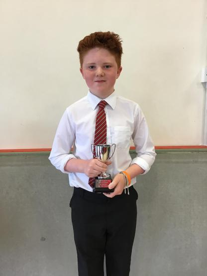Traditional Musician of  the year  Oran Cooke.