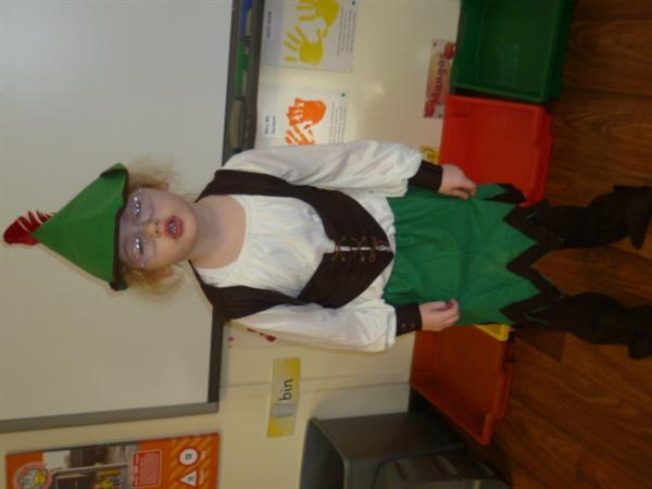 An Elf from The Elves & the Shoemaker