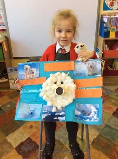 A polar bear expert!