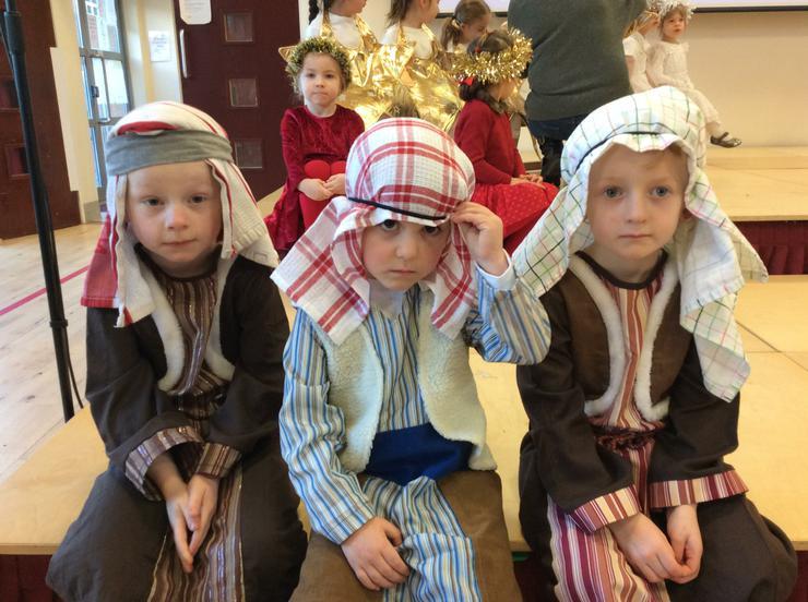 The Three Shepherds