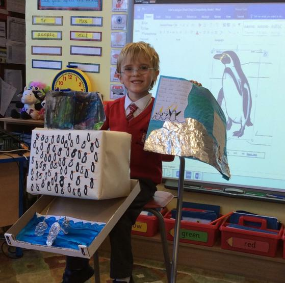 We learned new facts about Narwhals and penguins