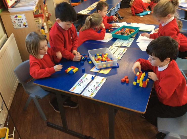 Using 3D shapes to build
