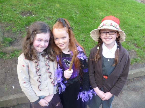 Margaret Anne, Bellatrix and Clarissa