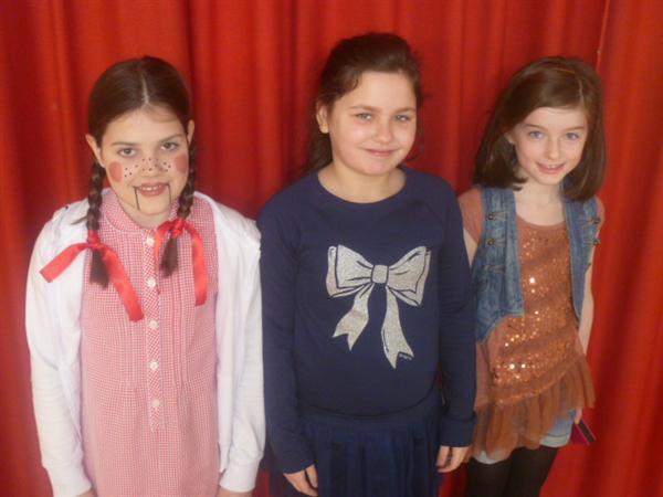 Dolly, Matilda, Natasha