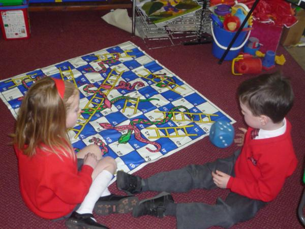 We changed the rules of snakes and ladders