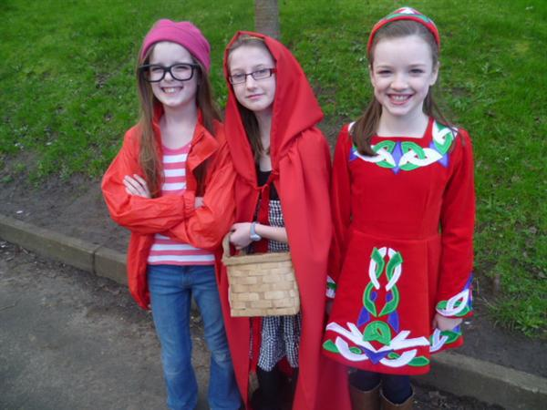 Wally, Red Riding Hood and Valentine O Byrne