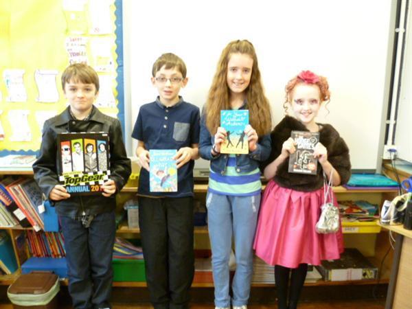 Ethan, Tiarnan, Maeve & Emma
