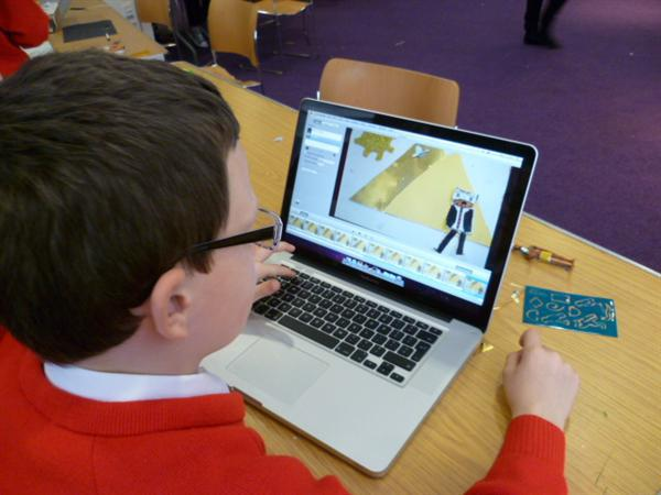 Using ProAnimate software.