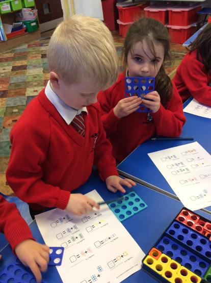 Using numicon to find doubles