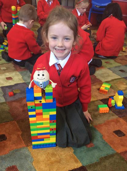 Cloadagh made a very tall wall for Humpty