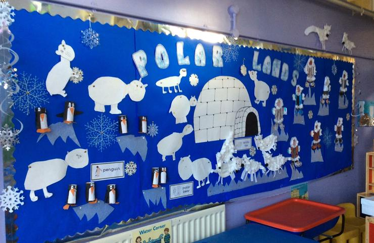Can you see he Inuits, penguins and Arctic foxes?