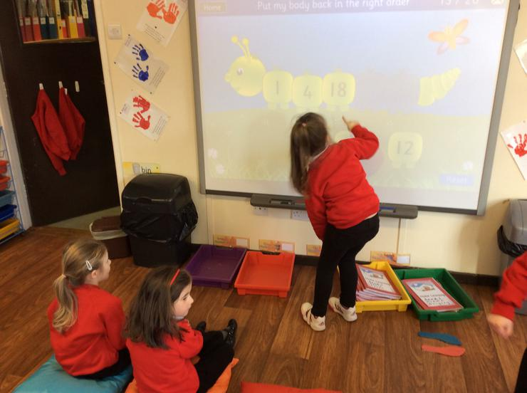 Sequencing to 20 on the IWB