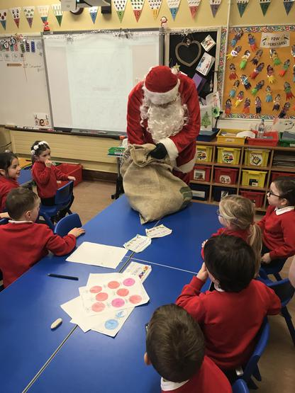 We all got a treat from Santa's sack!