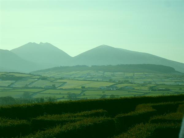 Misty mighty Mourne mountains