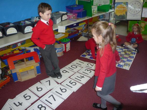 Fun with the number line
