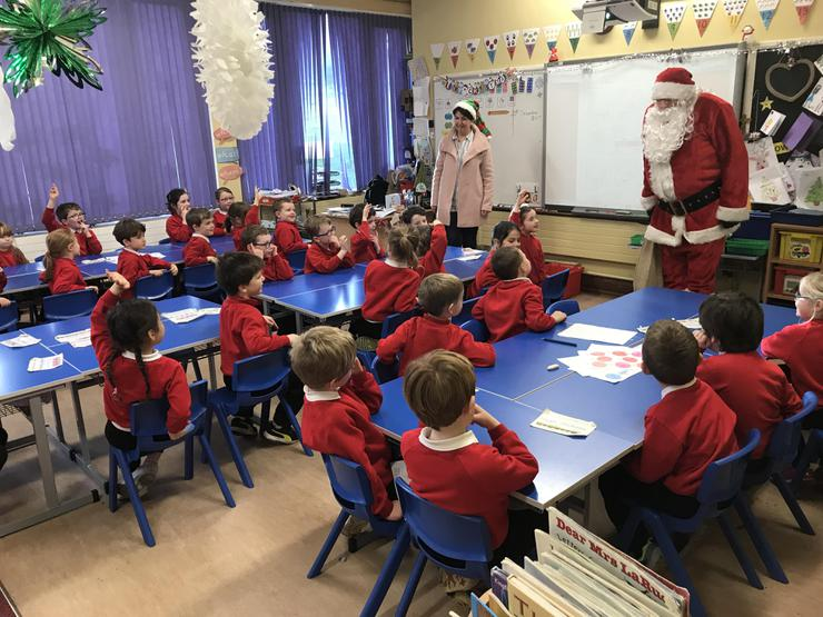 Santa knows that P2W have all been very good!