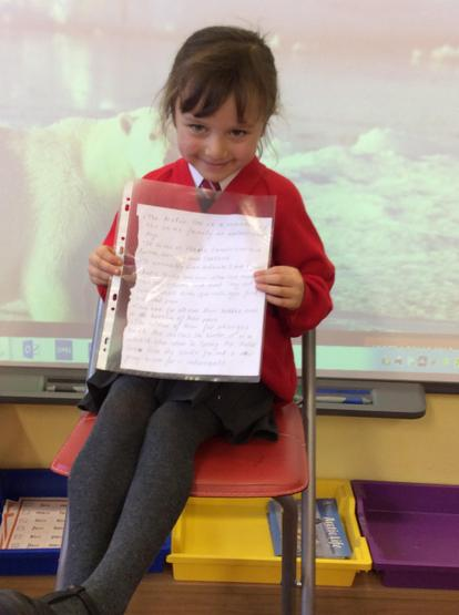 Great Polar animal facts and super writing