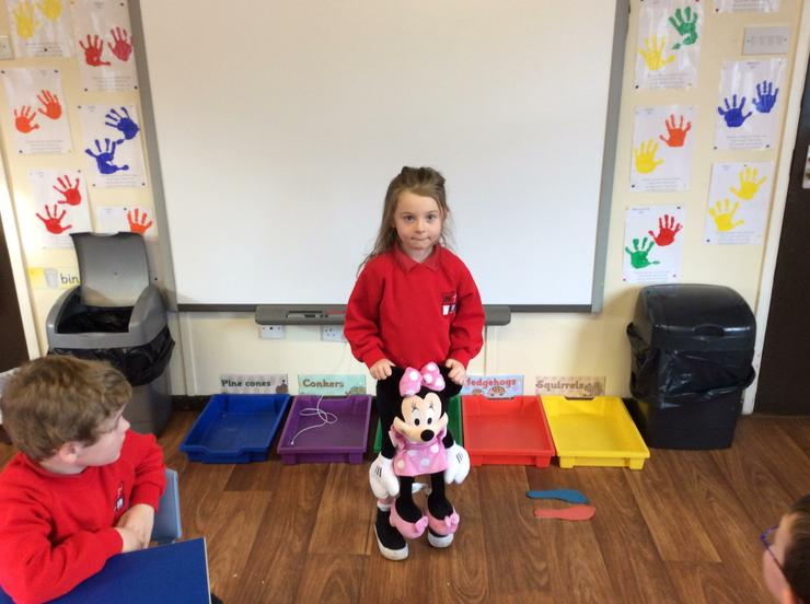 My favourite toy is Minnie Mouse