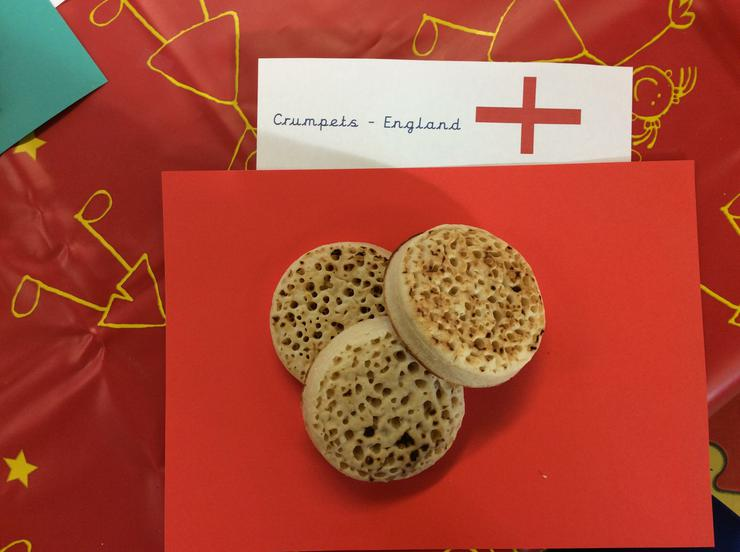Crumpets from England