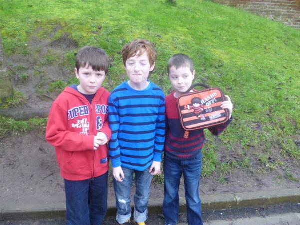 Ralph, Horrid Henry and Dennis the Menace