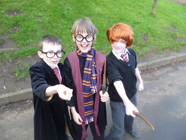 The Potters and Ron