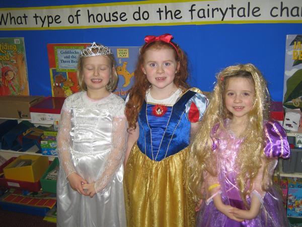 Cinderella, Snow White and Rapunzel