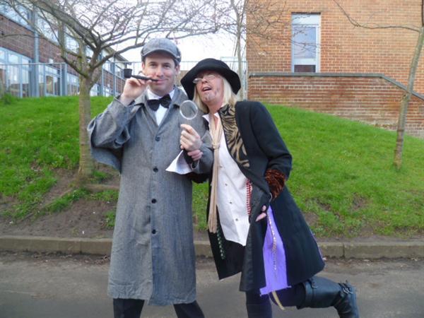 Sherlock Holmes and Fagin