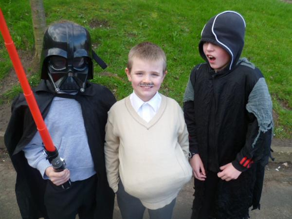 Darth Vader, Uncle Vernon and Ringwraith