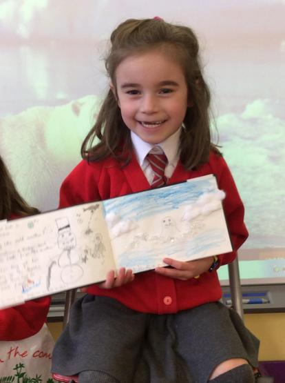 Fantastic writing and drawings of the Arctic