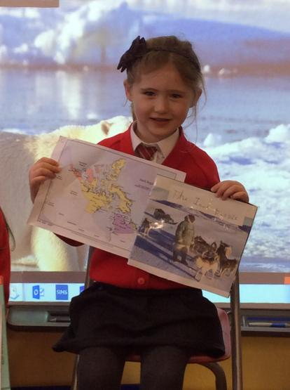 We learned about Inuit people and where they live