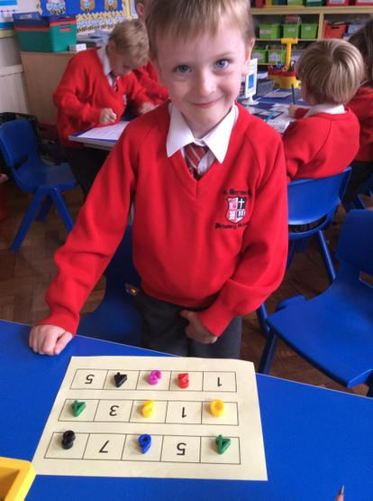 Look how clever we are at finding missing numbers