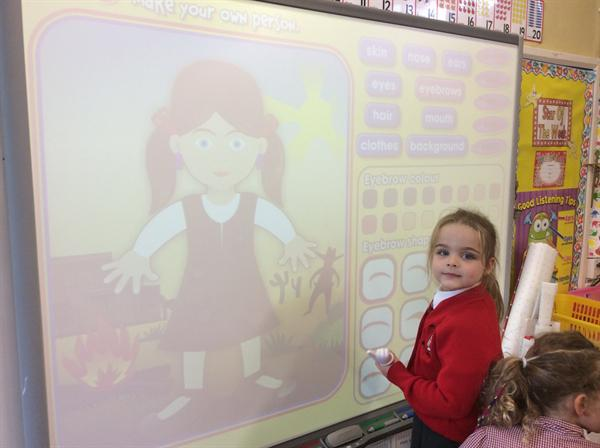 Creating pictures of ourselves on the interactive