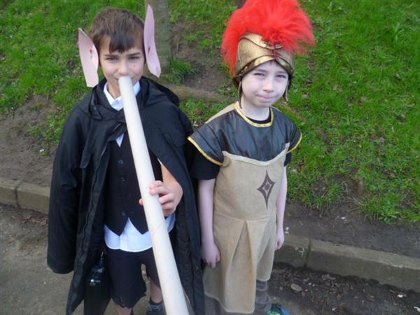 BFG and Julius Caesar