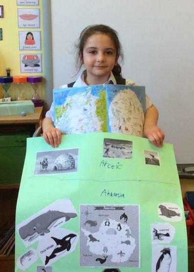 We learned so many new facts about penguins