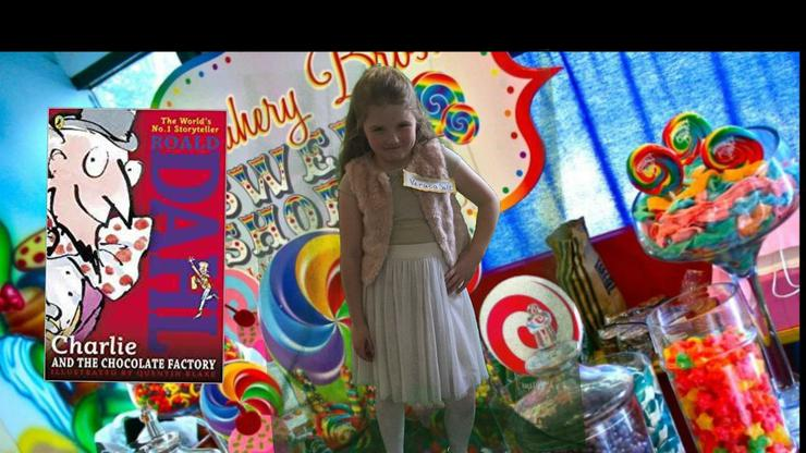 Olivia- Charlie and the Chocolate Factory