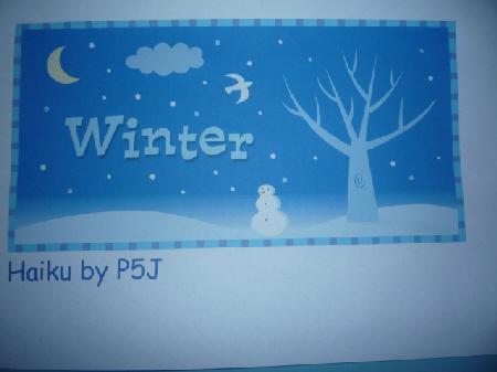 Winter paintings and Haiku