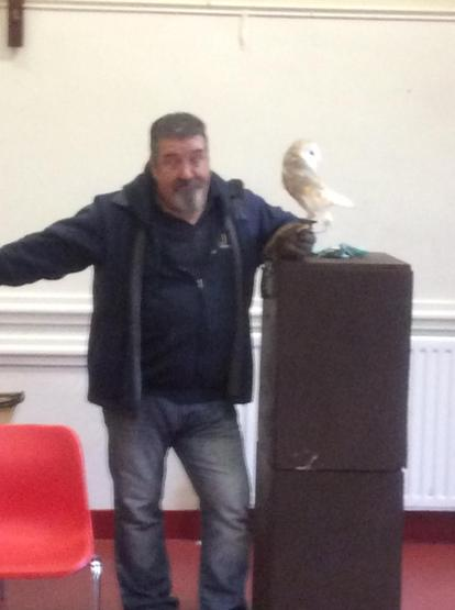 The barn owl could turn its head backwards!