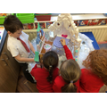 Imaginative play in the Frozen castle