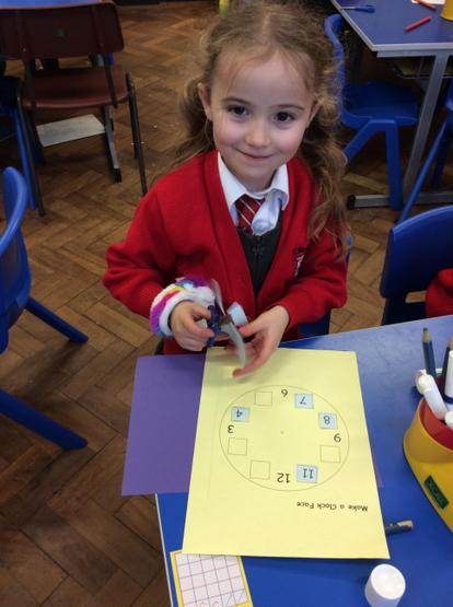 We made our own clocks