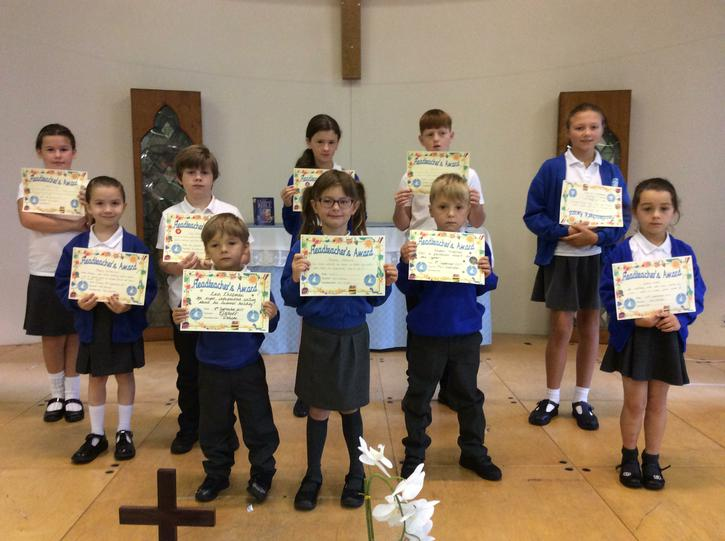 Headteacher's Award Winners 8.9.17