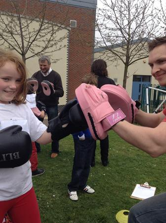 Modern Britain Day - boxing