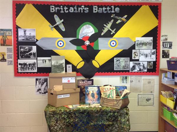 Britain's Battle is our topic for term 2.