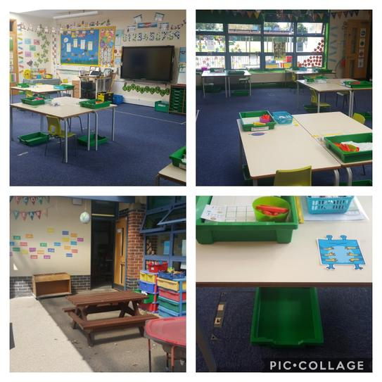 Mrs West and Mrs Hewitt's Classroom