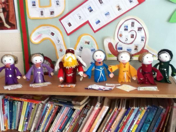 Tudor dolls