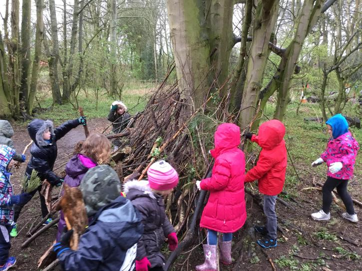 Building a hideout for Robin Hood