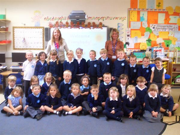 Mrs McDowell and Mrs Ford's class