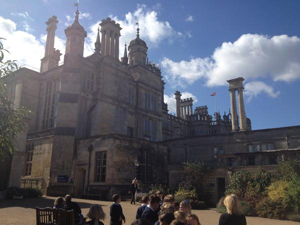 Trip to Burghley House