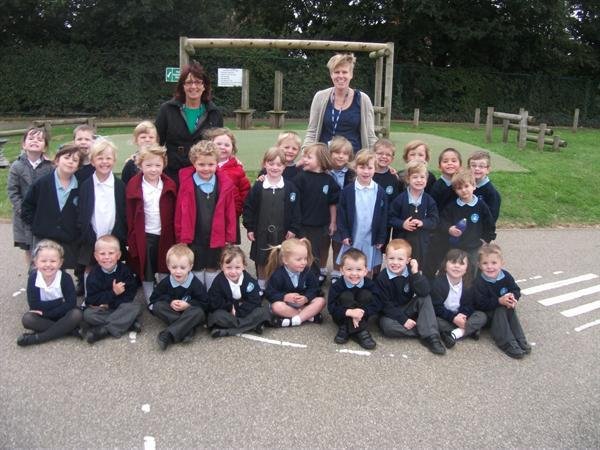 Mrs Brown and Mrs Atkin's class